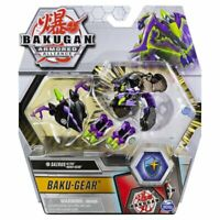 Bakugan Ultra Armored Alliance, Darkus Sairus with Transforming Baku-Gear