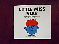 Little Miss Star by Roger Hargreaves 1984 Paperback