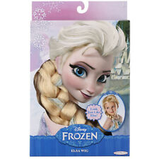 Frozen Princess Elsa Costume Braided Wig Disney Store Exclusive for Girls New