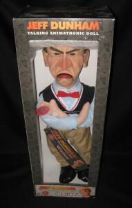 "NEW ~ NECA Jeff Dunham WALTER Old Man Talking Animatronic Doll 19"" 2013 ~ HTF"