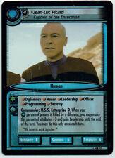 STAR TREK CCG 2E DANGEROUS MISSIONS, FOIL CARD 9R12 JEAN-LUC PICARD