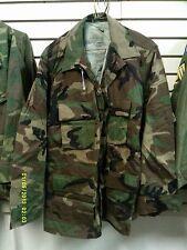 NOS Medium Regular Woodland BDU Temperate Combat Coat /Shirt A.A.