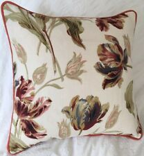 "cushion cover laura ashley gosford paprika fabric  16"" pepid paprika"