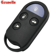 4 Button Remote Key Keyless Entry Fob Shell Case for Nissan Maxima 1995-1999