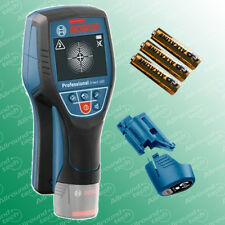 Bosch Leitungssucher Ortungsgerät Wallscanner D-tect 120 + Adapter + Batterien