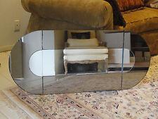 Glam Chic 70s Iconic Modernist Disco Era Hal Bienenfeld Pop Art Sculpture Mirror