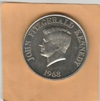 (W)  Token - John Fitzgerald Kennedy - 1968 - 38 MM Nickel