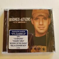 Rodney Atkins It's America  Curb Records 2009 UPC Punched