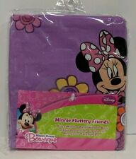 Disney Minnie Mouse Fluttery Friends Window Panel With Tie Back