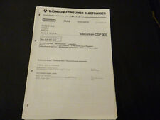 Original Service Manual Telefunken CDP 300