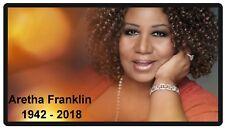 Queen Of Soul Aretha Franklin Memorial Refrigerator Magnet