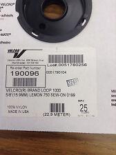 """Velcro Brand Loop & Hook - 5/8"""" (15.9MM) Lemon 750 Sew-On 0199 Nylon"""