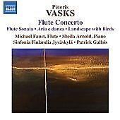 Vasks: Flute Concerto [Michael Faust, Sheila Arnold] [Naxos: 8572634], Sinfonia