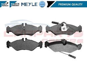 FOR MERCEDES BENZ SPRINTER 2-T 3-T VW LT MK2 PREMIUM REAR BRAKE PADS MEYEL