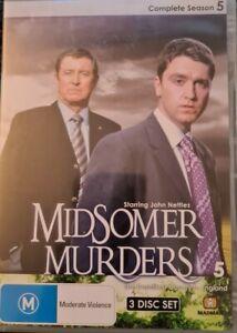 Midsomer Murders: Complete Season 5 Series 5 (DVD, R0, 2008, 3-Disc Set)