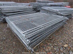 Jobsite Fencing (20) 8' Tall Panels Construction Security Fence bidadoo