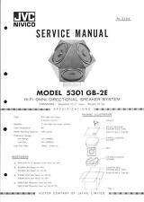 JVC Service Manual für 5301-GB-2E