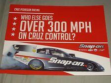 2013 CRUZ PEDREGON SNAP-ON FUNNY CAR NHRA POSTCARD