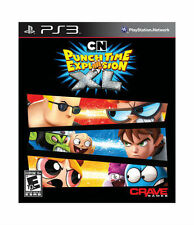 PLAYSTATION 3 CARTOON NETWORK PUNCH TIME EXPLOSION XL BRAND NEW VIDEO GAME