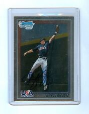 BRYCE BRENTZ 2010 BOWMAN CHROME REDEMPTION AUTO #/100 RED SOX
