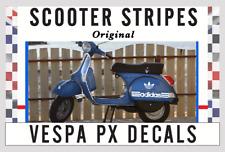 X1 ADIDAS NAME STYLE DECAL SET VESPA PX STICKER SET  mod UK
