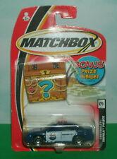 1/64 Scale 2000 Chevy Impala 9C1 Diecast Police Car - Vintage 2004 Matchbox MB3