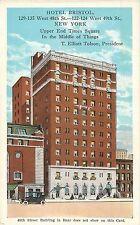 c1920 Hotel Bristol, New York City, NY Postcard