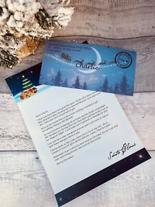 Personalised Letter From Santa, Father Christmas, Christmas Eve Box Filler