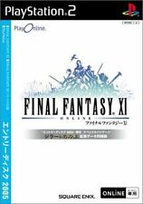 Used PS2 Final Fantasy XI Entry Disc 2005   SONY PLAYSTATION JAPAN IMPORT