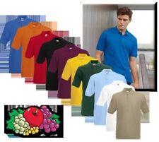 Fruit of the Loom Kurzarm Herren-Freizeithemden & -Shirts in normaler Größe