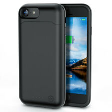For Apple iPhone 6s 6000mAh Extended Power bank Charging Battery Pack Case Black