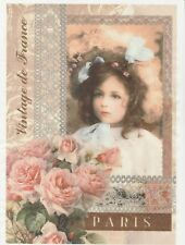 Rice Paper for Decoupage Scrapbook Craft Sheet Beautiful Girl