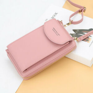 Lady Crossbody Mobile Phone Shoulder party Bag Wallet Credit Card Slot