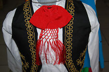 Mexican Charro and Mariachi Red Bow Tie Adult Size Moño Charro/Mariachi Rojo