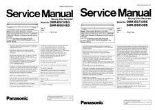 Panasonic DMR BS750 BS850 Blu Ray Recorder Service Manual