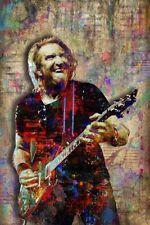 Joe Walsh Of The Eagles Poster The Eagles Joe Walsh Print 12x18in Free Shipping