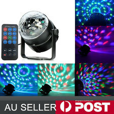 RGB LED Stage Light Lighting Crystal Magic Ball Effect DJ Disco Bar Party Club