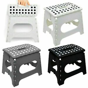 Large Step Stool Folding Foldable Multi Purpose Heavy Duty Home Kitchen Kids UK