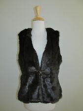 New Jack Murphy Womens Size 12 Euro/8 US Brown Faux Fur Vest