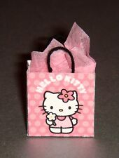 Sweet Pink Miniature Hello Kitty Gift Bag with tissue