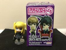 Death Note Nendoroid Petit CaseFile #01 Amane Misa W/ Purse. Original Box.