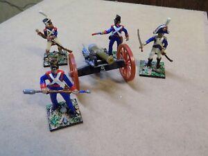 French Napoleonic Cannon set pro painted