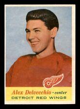 ALEX DELVECCHIO 57-58 TOPPS 1957-58 NO 34 EXMINT+ 13313