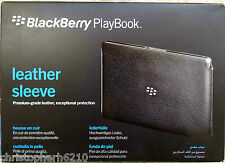 Genuine Original BlackBerry Playbook Premium Grade Leather Sleeve Pouch Case