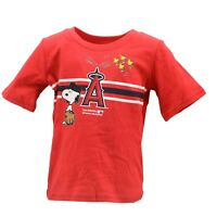 Los Angeles Angels MLB Genuine Infant Toddler Size Snoopy T-Shirt New with Tags