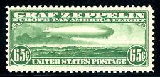 USA C13 MINT NH VF+ 65cent ZEPPELIN