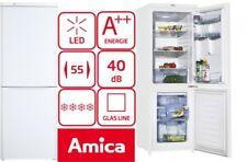 AMICA DESIGN KÜHL-/GEFRIERKOMBINATION KÜHLSCHRANK WEISS KÜHLKOMBI NEU A++ 180 L