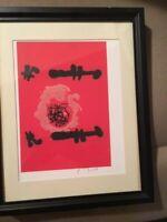 Joan Miro hand signed print
