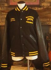 American Cheer Power National Champion Wool & Leather Varsity Jacket Size A-S