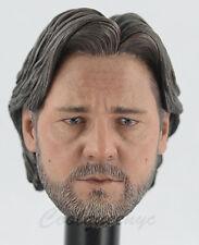 Hot Toys 1/6 Scale MMS201 Man of Steel Jor El Figure - Head Sculpt